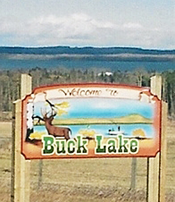 welcome to Buck Lake